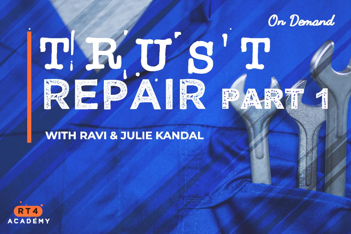 Trust Repair, Part 1